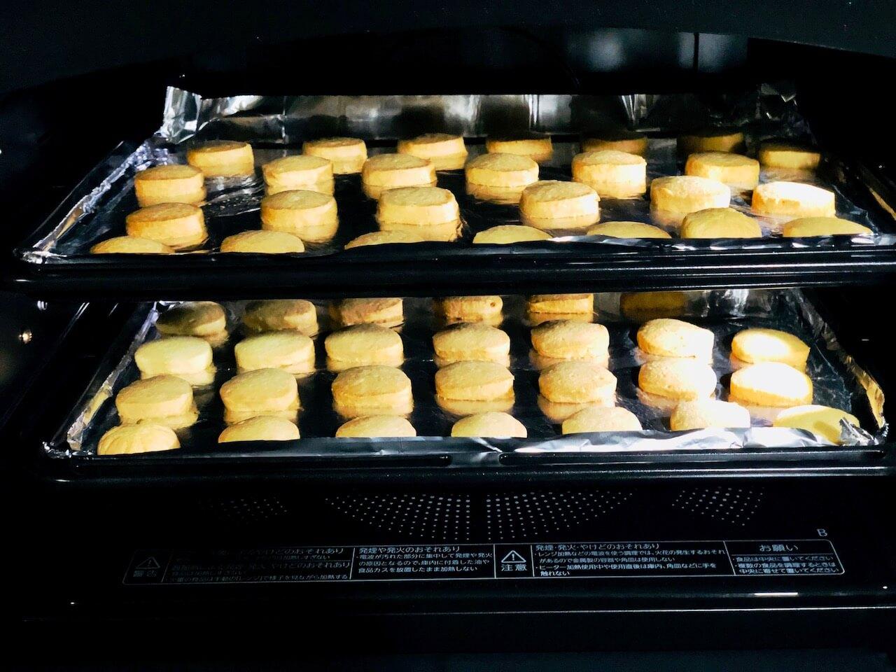 石窯ドーム ER-TD3000のオーブンで焼いたクッキー