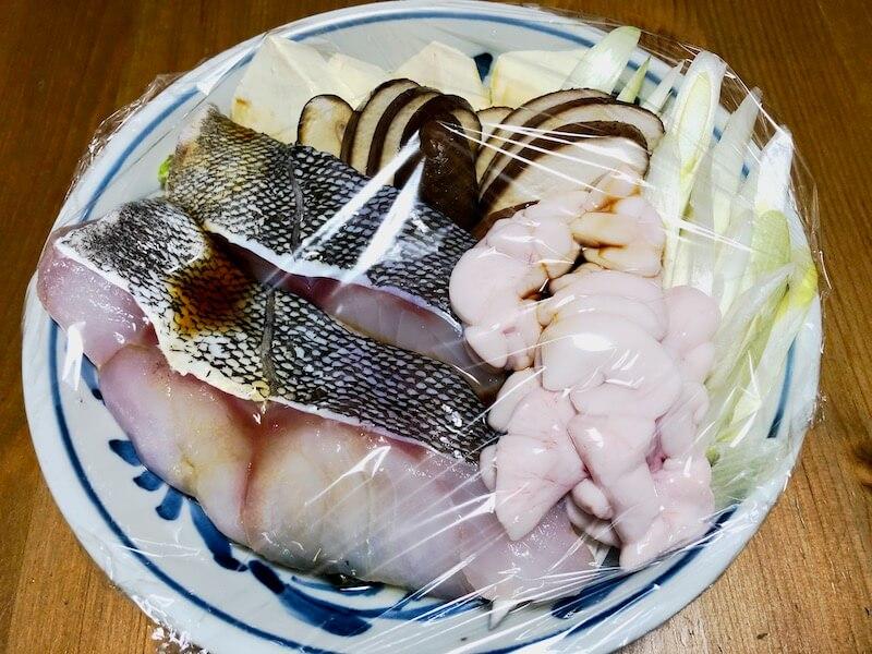 山内鮮魚店 寒鱈セット チリ蒸し2