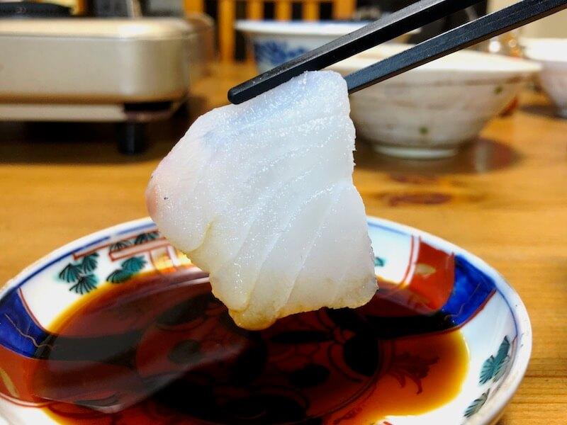 山内鮮魚店 寒鱈セット 刺し身2