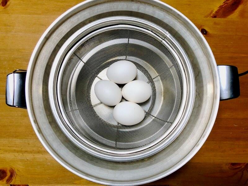 大同電鍋の口コミレビュー 卵