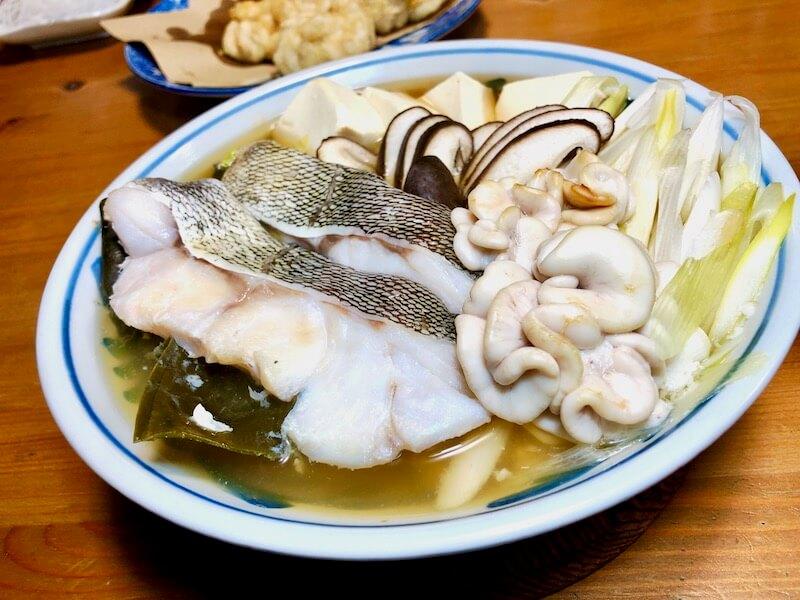 山内鮮魚店 寒鱈セット チリ蒸し7