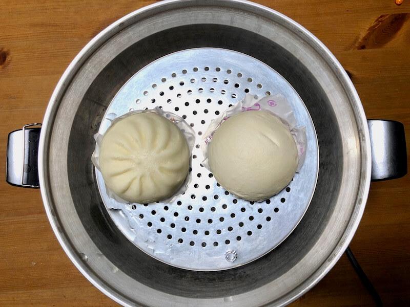 大同電鍋の口コミレビュー 冷凍肉まん2