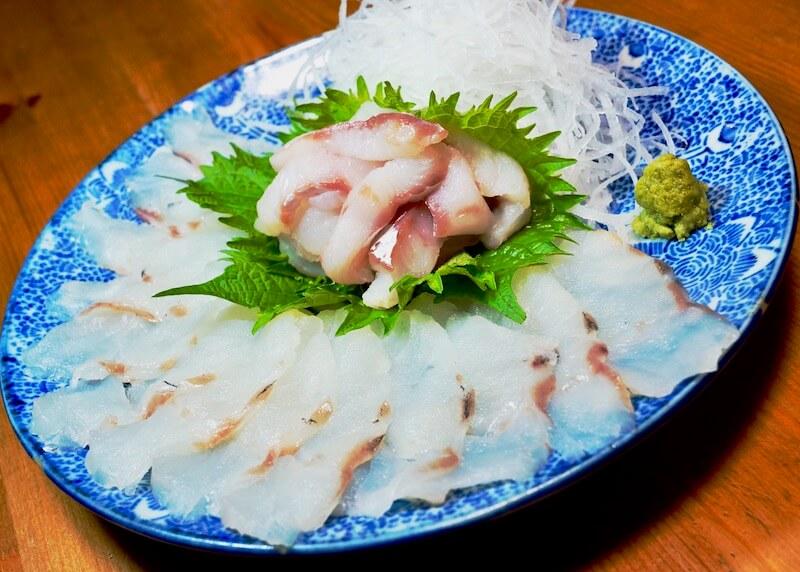 山内鮮魚店 寒鱈セット 刺し身