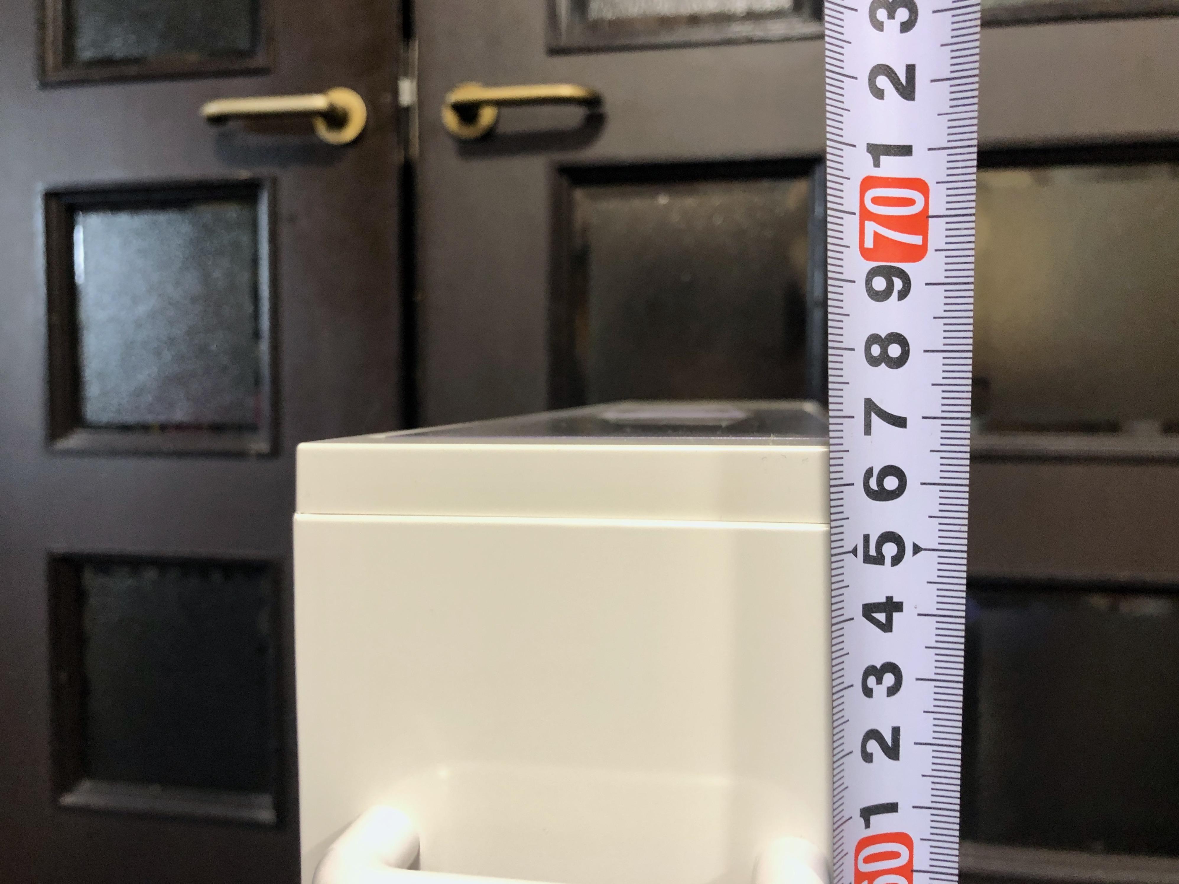 計量できるスリムな米びつ31