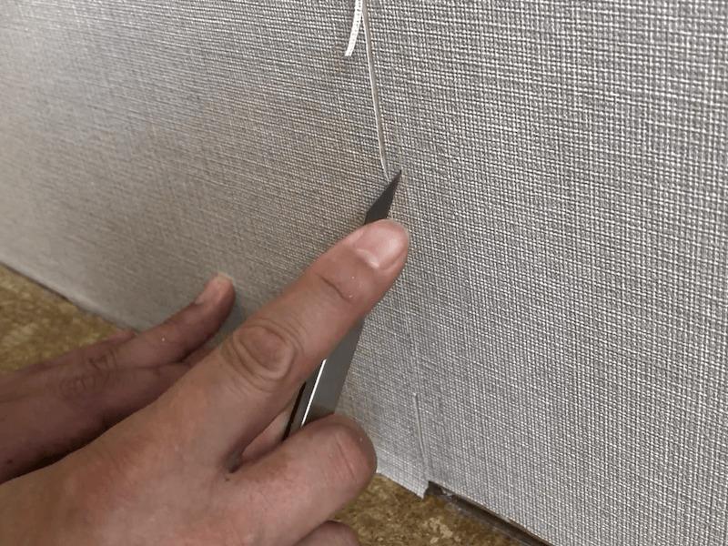 壁紙の破れの補修3