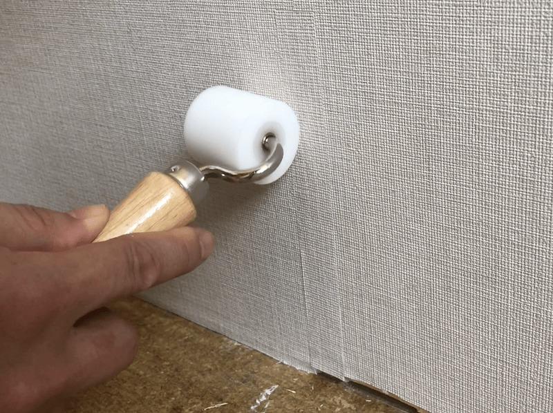 壁紙の破れの補修12