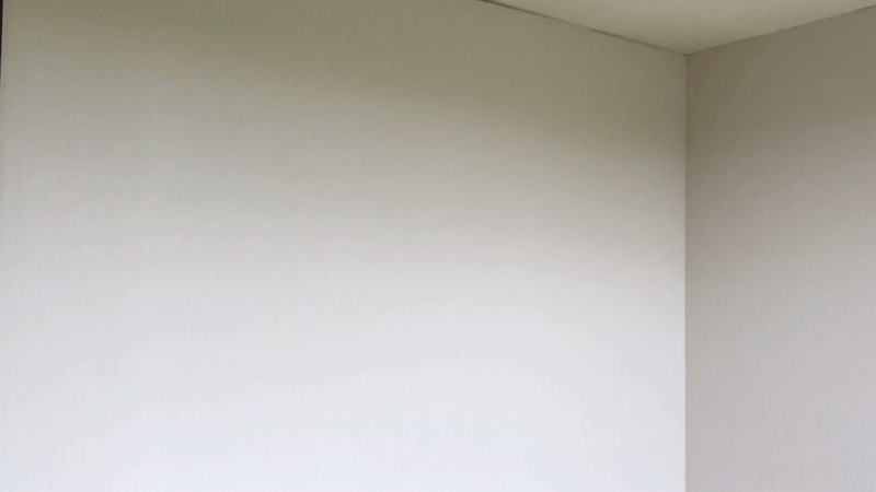 壁紙貼りの仕上がり2