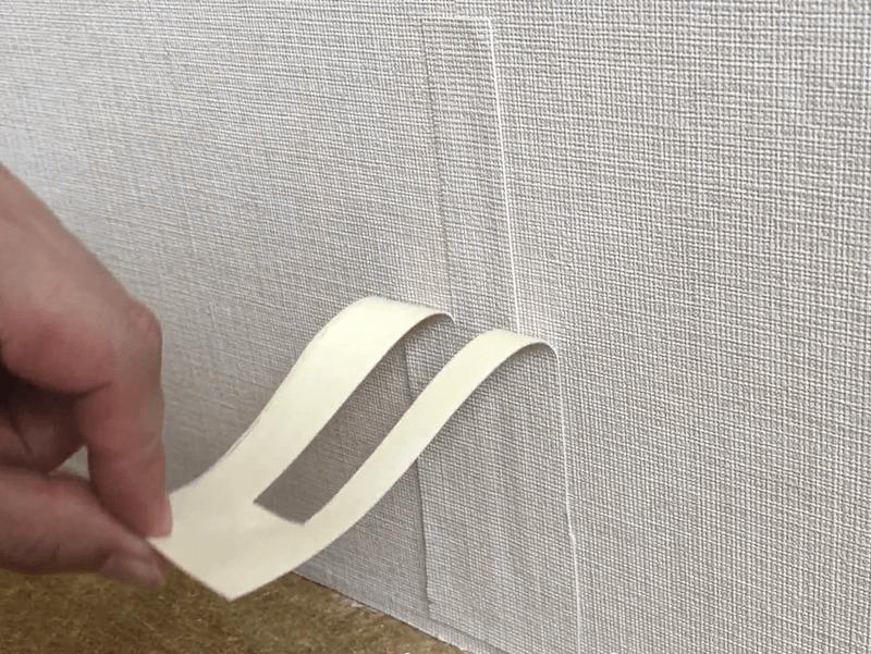 壁紙の破れの補修7