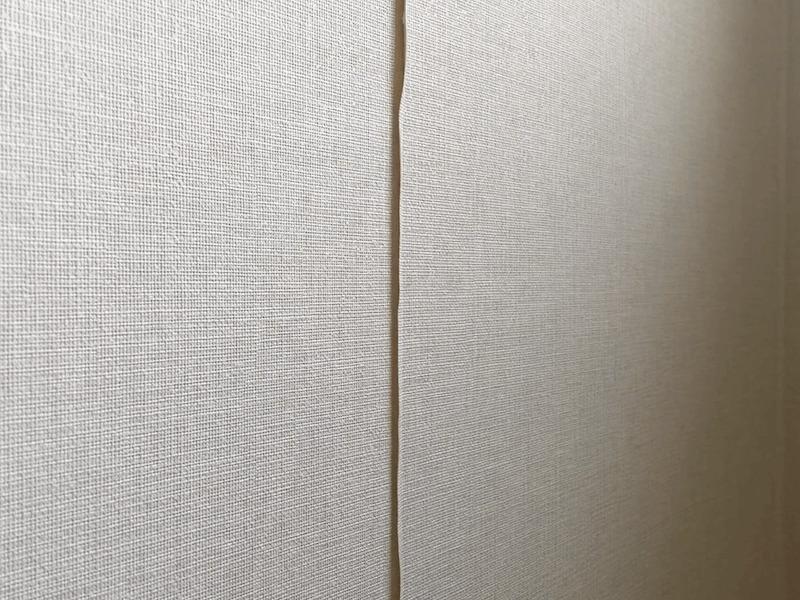 壁紙の剥がれの補修