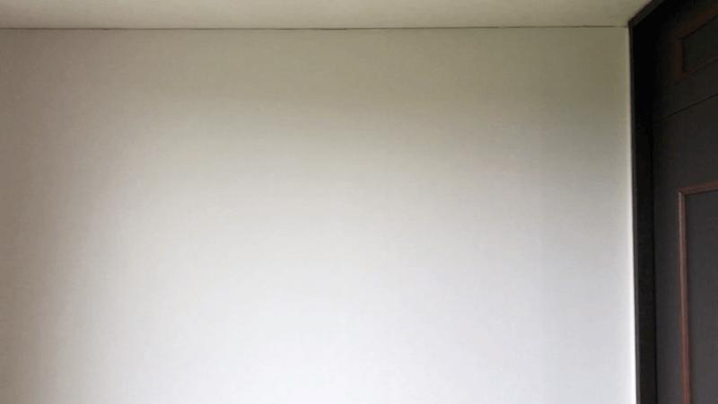 壁紙貼りの仕上がり4