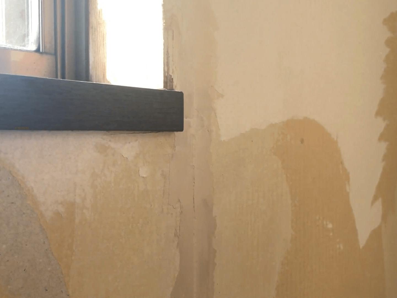 亀裂パテ塗り3