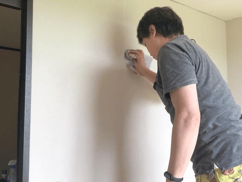 壁紙の継ぎ目の補修6