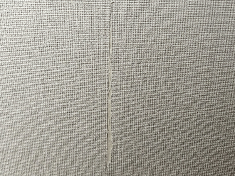 壁紙貼り失敗