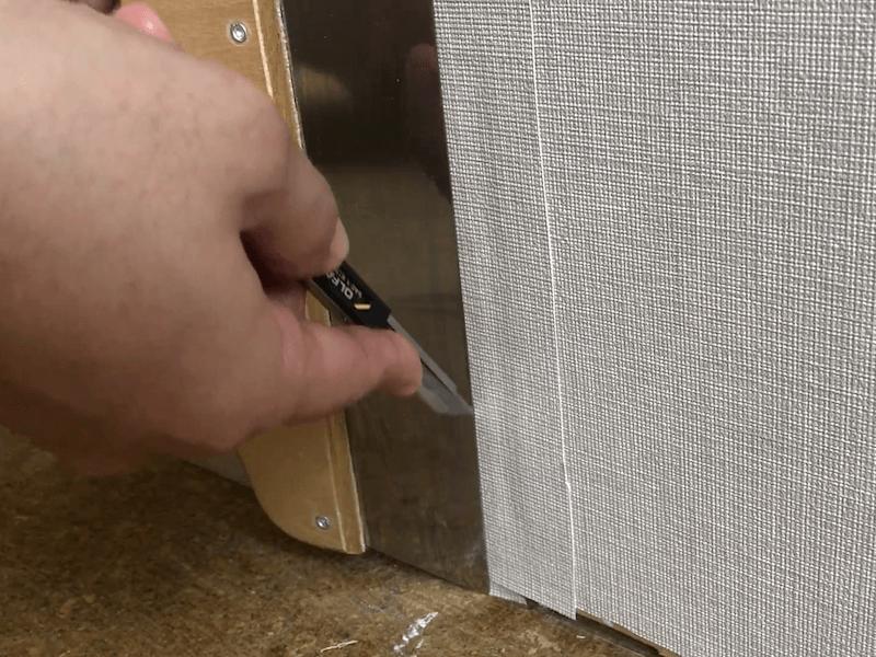 壁紙の破れの補修6