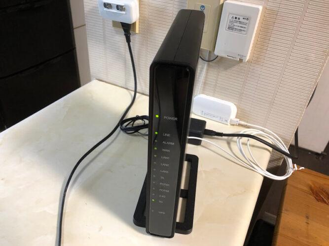 nuro光ネット回線接続機